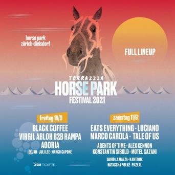 Terrazzza - Horse Park Festival 2021 Horse Park Dielsdorf Tickets