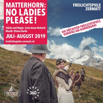 Freilichtspiele Zermatt 2019 Riffelberg-Gornergrat Zermatt Tickets