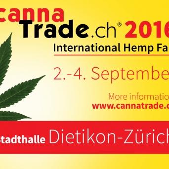 CannaTrade - Hanfmesse 2016 Stadthalle Dietikon Tickets