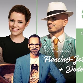 Ein Abend mit Phil Dankner und Francine Jordi + Dodo Lachensaal (KKThun) Thun Biglietti