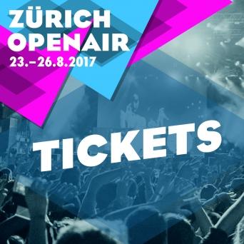 ZÜRICH OPENAIR 2017 Festivalgelände Glattbrugg Tickets