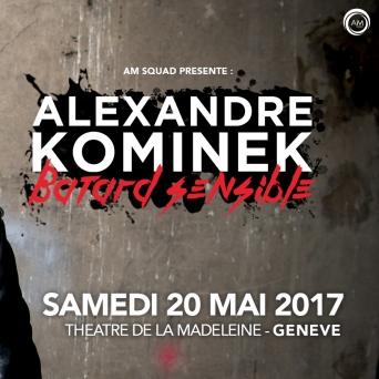 Alexandre Kominek Salle Centrale de la Madeleine Genève Billets