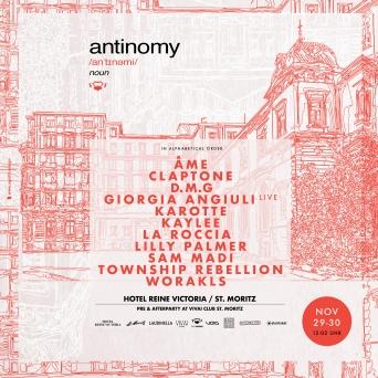 Antinomy Daytimer Hotel Reine Victoria St. Moritz Tickets