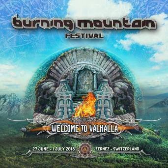 Burning Mountain Festival 2018 Festivalgelände Praschitsch Zernez Tickets