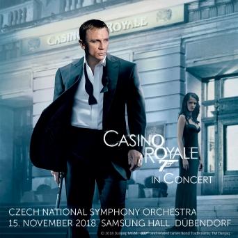 Casino Royale in Concert Samsung Hall Zürich Dübendorf Tickets