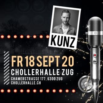 KUNTERBUNT mit KUNZ Chollerhalle Zug Tickets