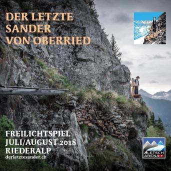 Der letzte Sander von Oberried Alpmuseum Riederalp Riederalp - Aletsch Arena Biglietti