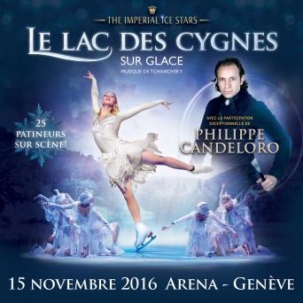 Le Lac des Cygnes sur Glace Arena Genève Billets