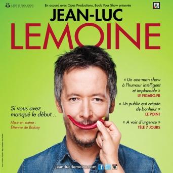 Jean-Luc Lemoine Théâtre de la Madeleine Genève Billets