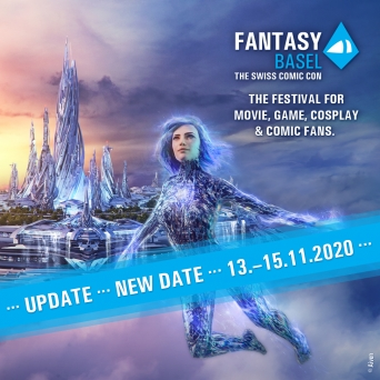 Fantasy Basel -The Swiss Comic Con 2020 Messe Basel Tickets