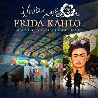 Viva Frida Kahlo - Immersive Experience Lichthalle MAAG Zürich Tickets