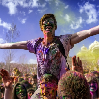 Holi-Gaudy Festival Several locations Several cities Tickets