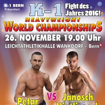 K1 Fight Night Bern Leichtathletikhalle Wankdorf Bern Tickets
