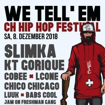 We Tell'Em Festival 2018 Kulturfabrik KUFA Lyss Lyss Tickets