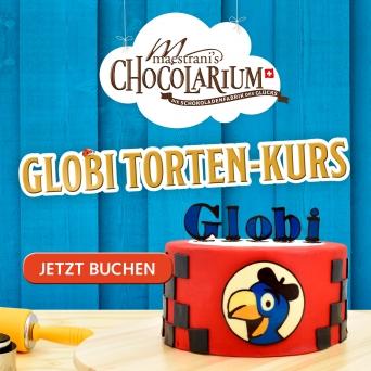 Maestrani: Globi Tortenkurs Maestrani's Chocolarium Flawil bei St. Gallen Tickets