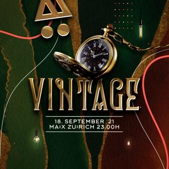 Vintage MÄX Zürich Biglietti