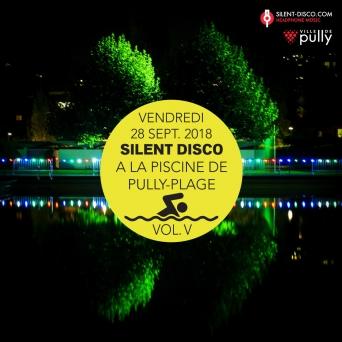 Silent Disco à la Piscine de Pully-Plage Vol. V Piscine de Pully-Plage Pully Billets