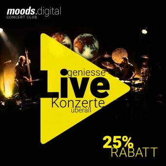 1 Monats-Abo für moods.digital Moods Zürich Tickets