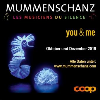 Mummenschanz - you & me Diverse Locations Diverse Orte Tickets