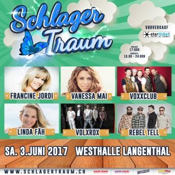 Schlagertraum Langenthal Westhalle Langenthal Langenthal Tickets