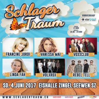 Schlagertraum Seewen Eishalle Zingel Seewen SZ Tickets