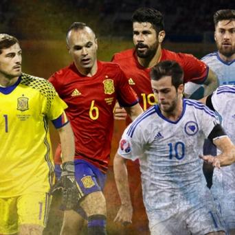 Spanien vs. Bosnien-Herzegowina AFG Arena St. Gallen Biglietti