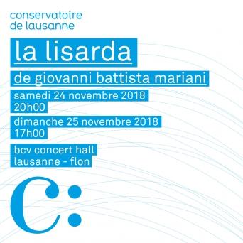 La Lisarda BCV Concert Hall Lausanne Billets