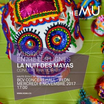 La Nuit des Mayas BCV Concert Hall Lausanne Billets