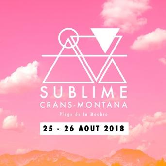 Sublime Festival Plage de la Moubra Crans-Montana Billets