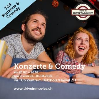 TCS Konzerte & Comedy TCS Zentrum Betzholz Hinwil (ZH) Tickets