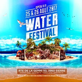 Water Festival Valais/Wallis Parking Obox Club Sierre Billets
