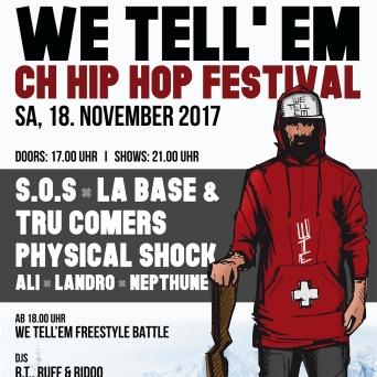 We Tell'Em - CH-Hip Hop Festival Kulturfabrik KUFA Lyss Lyss Tickets