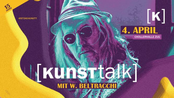 KUNSTtalk mit W. Beltracchi Chollerhalle Zug Biglietti