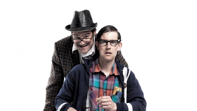 """Strohmann-Kauz: """"Sitzläder"""" Theater im Teufelhof Basel Tickets"""
