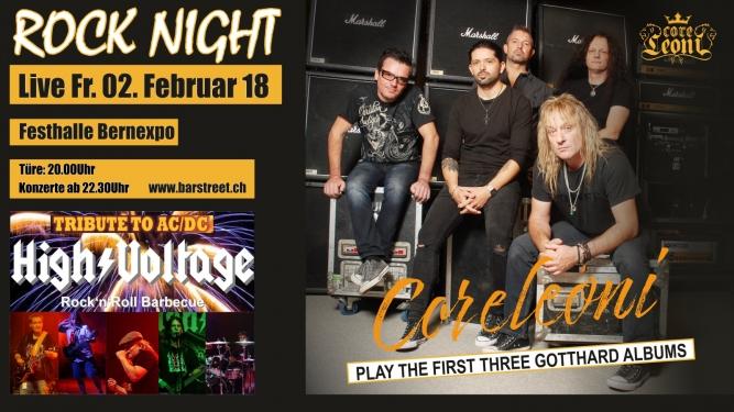 Berner Rock Night mit Coreleoni Festhalle BERNEXPO Bern Tickets