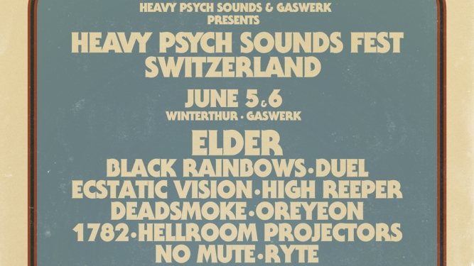 Heavy Psych Sound Fest Switzerland Gaswerk Winterthur Tickets