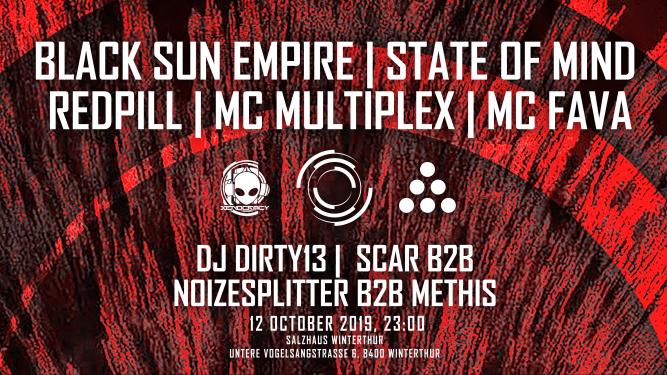 Blackout w/ Black Sun Empire Salzhaus Winterthur Tickets