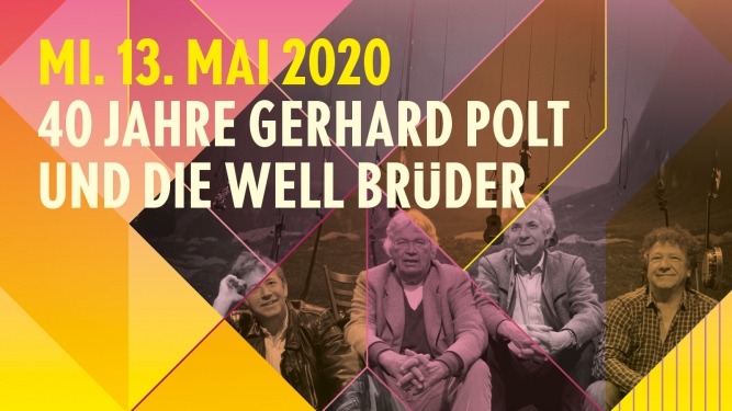 Gerhard Polt & Die Well Brüder KREUZ Jona Tickets