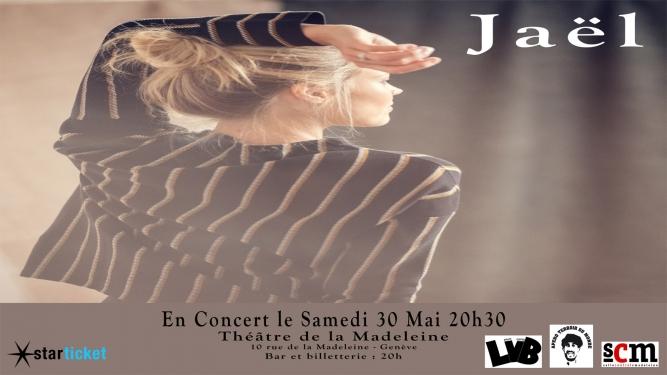 Concert Jaël Théâtre de la Madeleine Genève Tickets