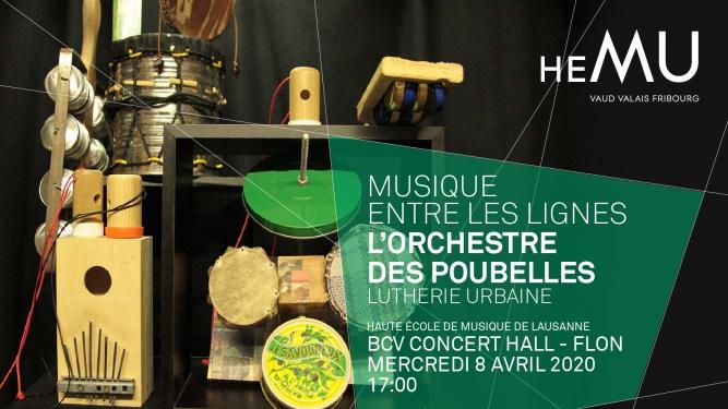L'Orchestre des poubelles BCV Concert Hall Lausanne Tickets