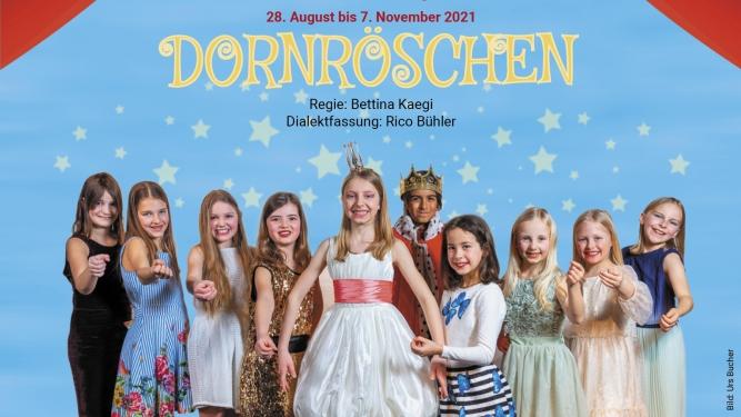 Dornröschen - Kinder-Tanz-Märli Kinder.musical.theater Storchen St.Gallen Tickets