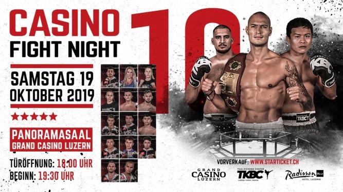 10. Casino Fight Night Grand Casino Luzern Tickets