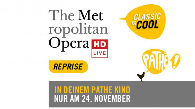 Metropolitan Opera: Tosca Pathé Mall of Switzerland, Saal 4 Ebikon Tickets