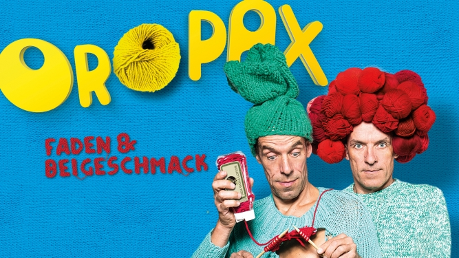 DAS ZELT: Oropax - Faden & Beigeschmack DAS ZELT Basel Tickets