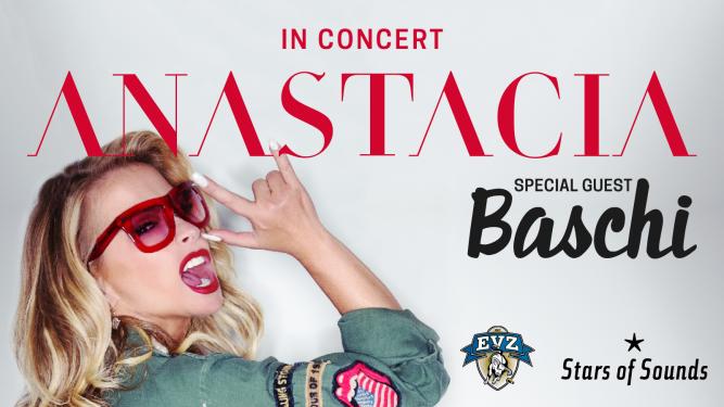 Anastacia BOSSARD Arena Zug Tickets