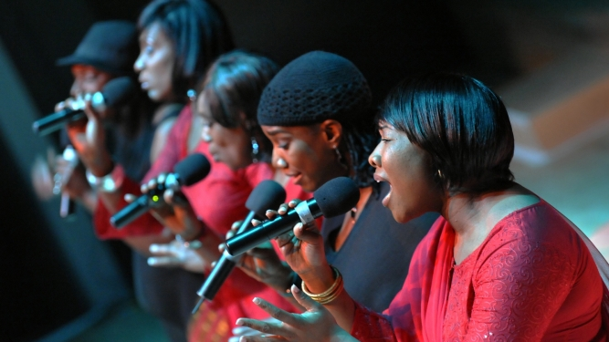 Black Voices Reformierte Kirche Horgen Tickets