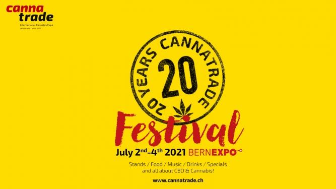 20years CannaTrade - Festival / Goodiebag-Ticket BERNEXPO Bern Tickets