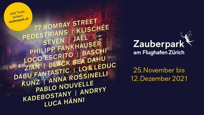 Zauberpark am Flughafen Zürich 2021 Flughafenpark im Circle Flughafen Zürich Tickets