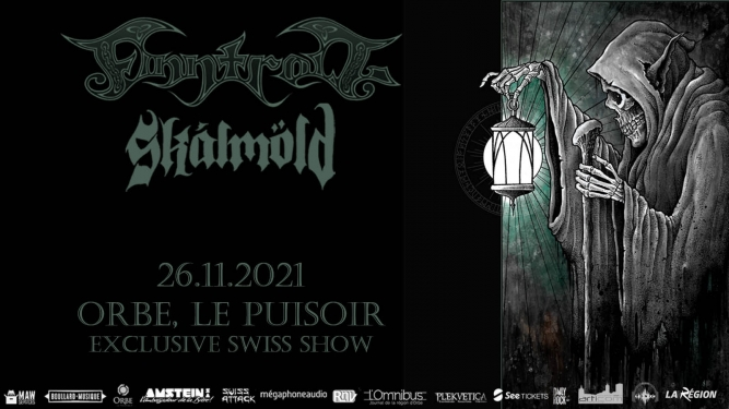 Finntroll, Skàlmold, - Exclusive Swiss Show Le Puisoir Orbe Billets