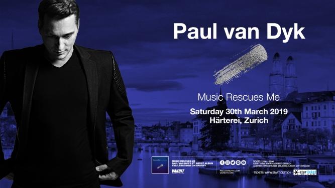 Paul Van Dyk Härterei Club Zürich Tickets
